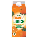 Iceland Pure Smooth Orange Juice From Concentrate 2L