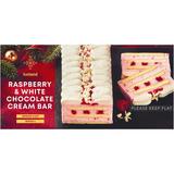 Iceland Raspberry & White Chocolate Cream Bar 365g