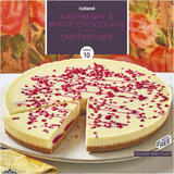 Iceland Raspberry & White Chocolate Flavour Cheesecake 800g