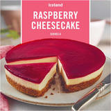 Iceland Raspberry Cheesecake: 400g