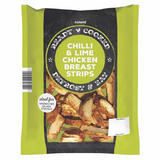 Iceland Ready Cooked Chilli & Lime Chicken Breast Strips 425g