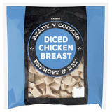 Iceland Ready Cooked Diced Chicken Breast 1kg