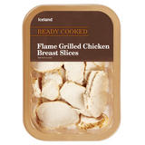 Iceland Ready Cooked Flame Grilled Chicken Breast Slices 200g
