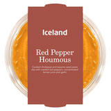 Iceland Red Pepper Houmous 200g
