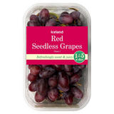 Iceland Red Seedless Grapes 500g