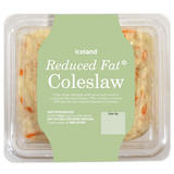 Iceland Reduced Fat* Coleslaw 500g