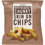 Iceland Ridiculously Chunky Beef Dripping Skin On Chips 900g