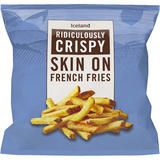 Iceland Ridiculously Crispy Skin On French Fries. 1.2kg