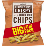 Iceland Ridiculously Crispy Straight Cut Chips 2.45kg
