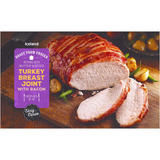 Iceland Roast From Frozen Boneless Butter Basted Turkey Breast Joint with Bacon 1.15kg