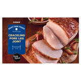 Iceland Roast From Frozen Boneless Crackling Pork Leg Joint 700g