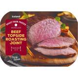 Iceland Roast From Frozen Easy Carve Boneless Beef Topside Roasting Joint  650g