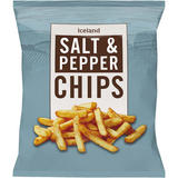 Iceland Salt & Pepper Chips 900g
