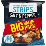 Iceland Salt and Pepper Chicken Breast Fillet Strips 1.0kg