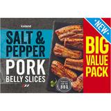 Iceland Salt and Pepper Pork Belly Slices 700g