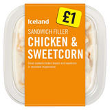 Iceland Sandwich Filler Chicken & Sweetcorn 200g
