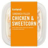 Iceland Sandwich Filler Chicken and Sweetcorn 200g