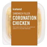Iceland Sandwich Filler Coronation Chicken 200g