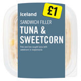 Iceland Sandwich Filler Tuna & Sweetcorn 200g