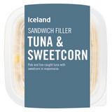 Iceland Sandwich Filler Tuna and Sweetcorn 200g