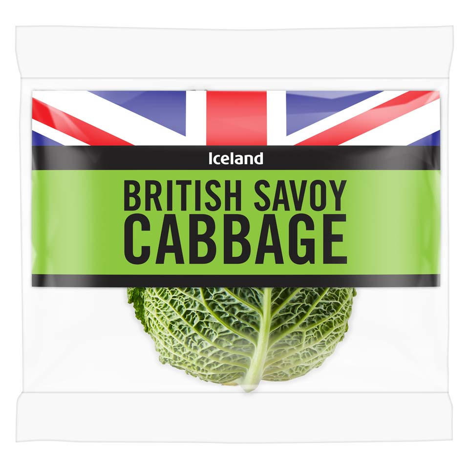 Iceland Savoy Cabbage Fresh Vegetables Iceland Foods