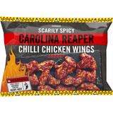 Iceland Scarily Spicy Carolina Reaper Chilli Chicken Wings 850g