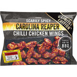 Iceland Scarily Spicy Carolina Reaper Chilli Chicken Wings 900g