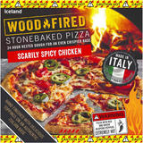 Iceland Scarily Spicy Chicken Stonebaked Pizza 359g