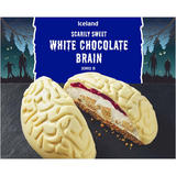 Iceland Scarily Sweet White Chocolate Brain 810g