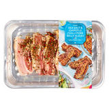 Iceland Sea Salt & Chipotle Chilli Pork Belly Slices 250g