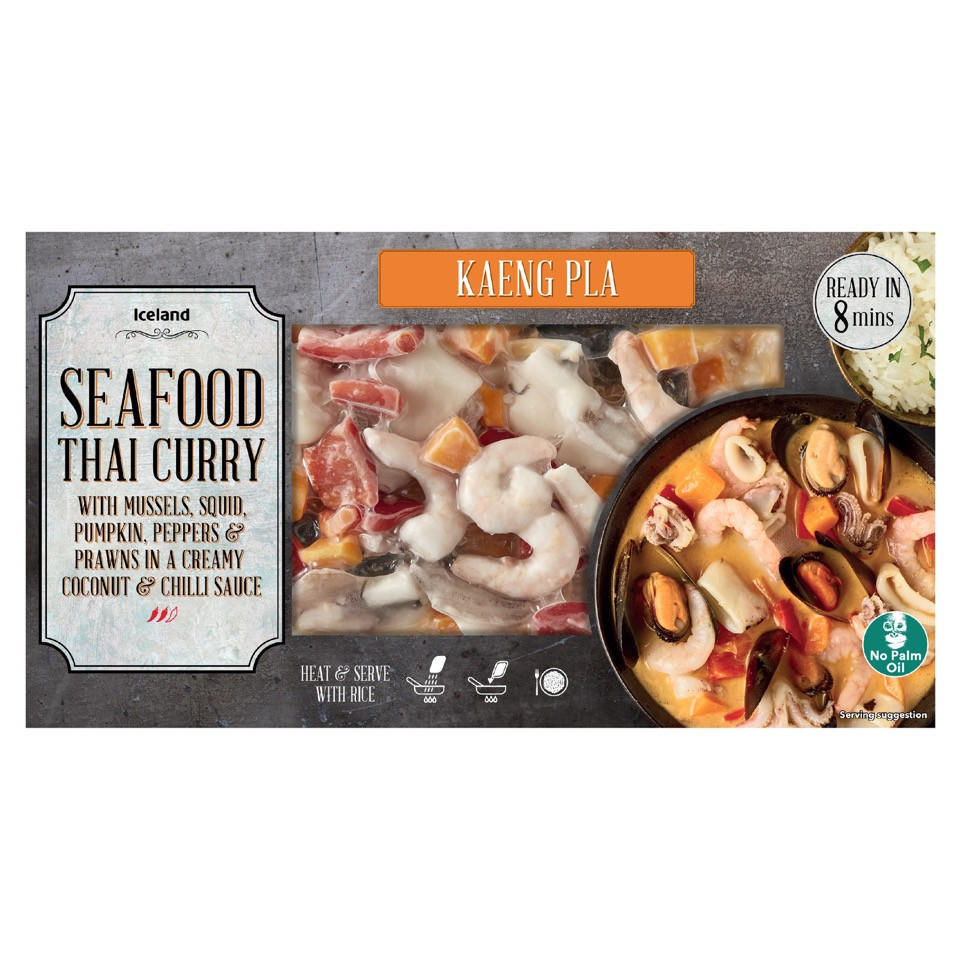 Iceland Seafood Thai Curry 450g Iceland Foods