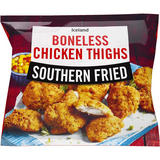 Iceland Southern Fried Boneless Chicken Thighs 600g