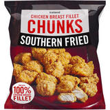 Iceland Southern Fried Chicken Breast Fillet Chunks 540g