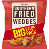 Iceland Southern Fried Wedges 2.05kg