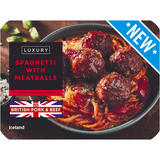 Iceland Luxury Spaghetti with Meatballs 450g