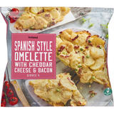 Iceland Spanish Style Omelette With Cheddar Cheese and Bacon 650g