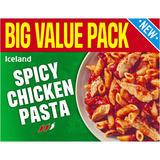 Iceland Spicy Chicken Pasta 450g