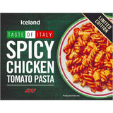 Iceland Spicy Chicken Tomato Pasta 400g