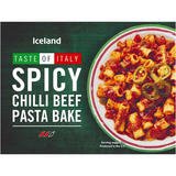 Iceland Spicy Chilli Beef Pasta Bake 400g