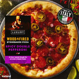 Iceland Spicy Double Pepperoni Stonebaked Pizza 379g