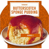 Iceland Sponge topped with Butterscotch Sauce 110g