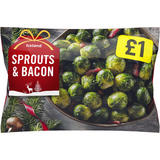 Iceland Sprouts and Bacon 440g