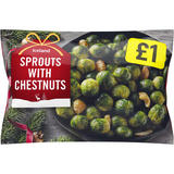 Iceland Sprouts with Chestnuts 400g