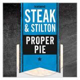 Iceland Steak & Stilton Proper Pie 220g