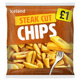 Iceland Steak Cut Chips 1.25kg