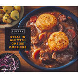 Iceland Steak in Ale with Cheese Cobblers 450g