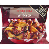 Iceland Sticky Cola Chicken Wings 750g