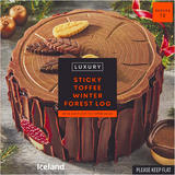 Iceland Luxury Sticky Toffee Winter Forest Log 1kg
