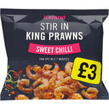 Iceland Stir In King Prawns  Sweet Chilli 200g