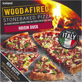 Iceland Stonebaked Hoisin Duck Pizza 368g
